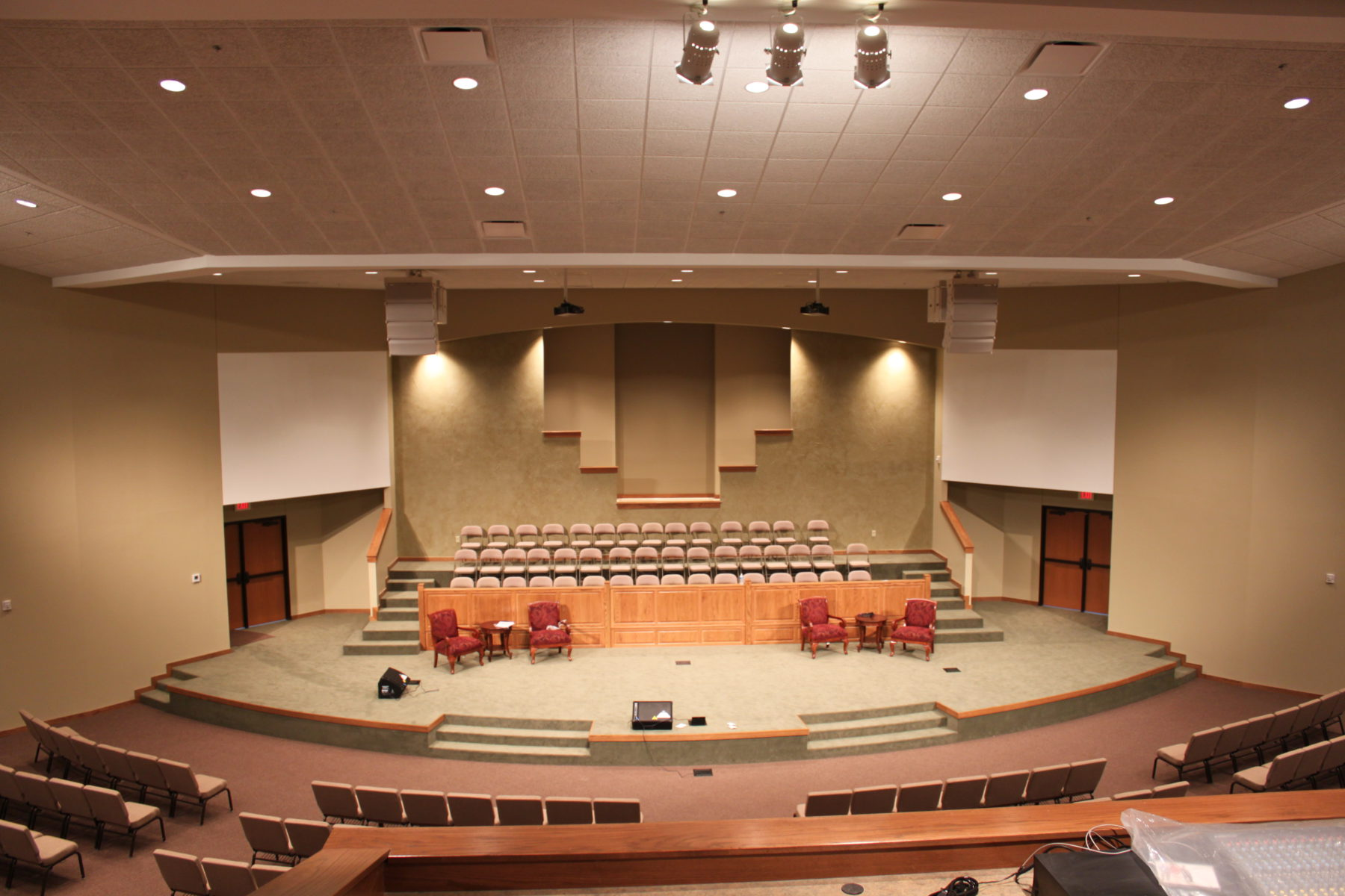 oklahoma church construction